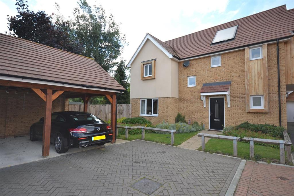3 Bedrooms Link Detached House for sale in Canute Close, Runwell, Wickford