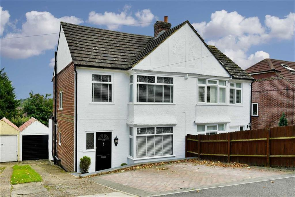 3 Bedrooms Semi Detached House for sale in Hempshaw Avenue, Banstead, Surrey