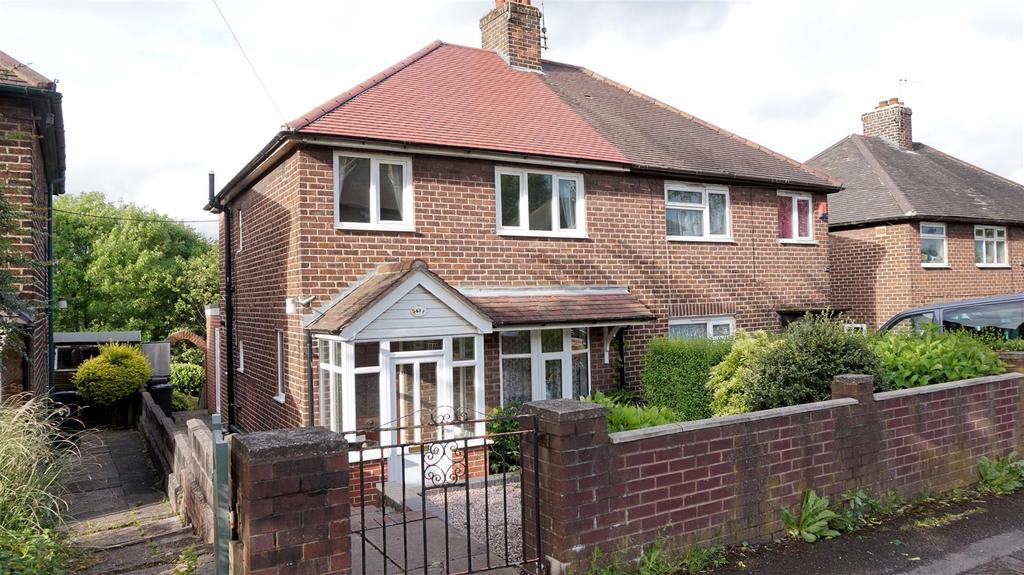 3 Bedrooms Semi Detached House for sale in Hillport Avenue, Porthill, Newcastle, Staffs