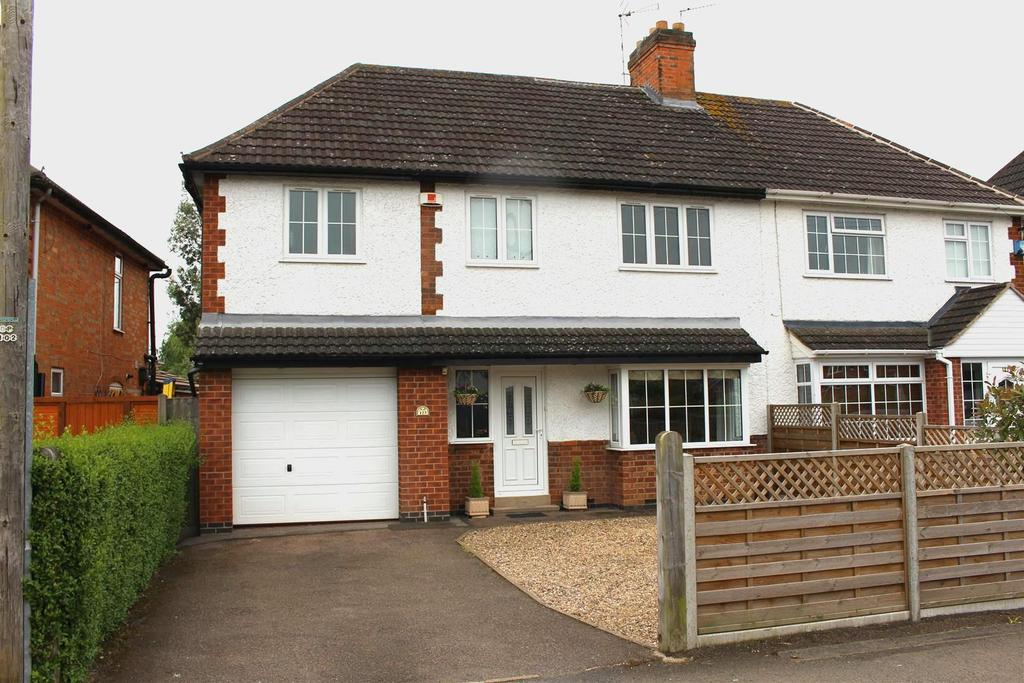 4 Bedrooms Semi Detached House for sale in Grove Road, Blaby, Leicester