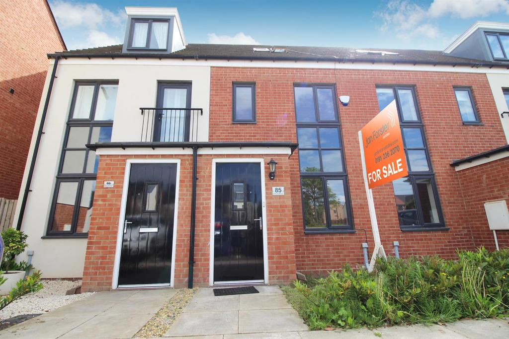 3 Bedrooms Town House for sale in Elmwood Park Court, Great Park, Newcastle Upon Tyne