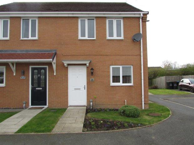 3 Bedrooms Semi Detached House for sale in OAKLEY MANOR, WEST AUCKLAND, BISHOP AUCKLAND