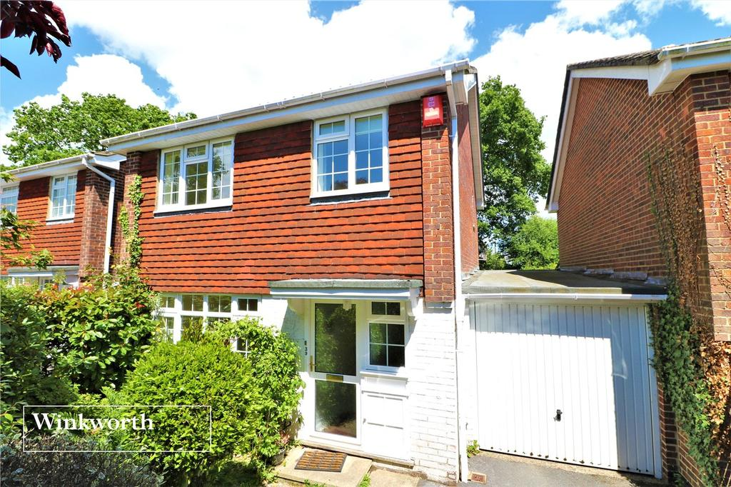 3 Bedrooms Link Detached House for sale in Stanford Rise, Sway, Lymington, Hampshire, SO41