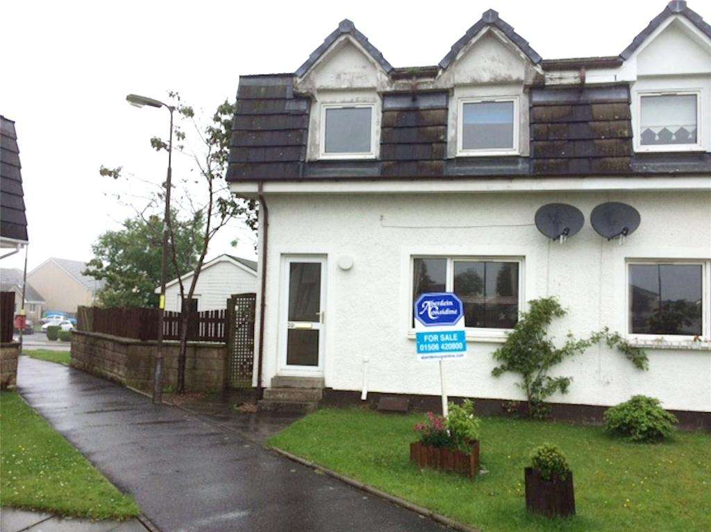 3 Bedrooms Semi Detached House for sale in 20 Rashierigg Place, Longridge, Bathgate, EH47