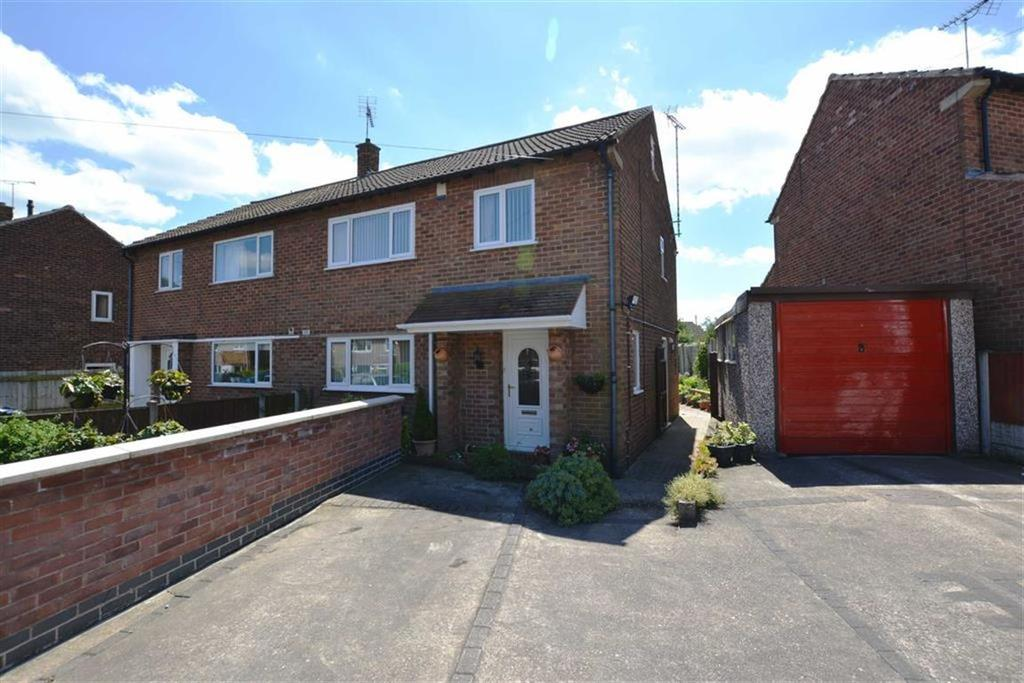 3 Bedrooms Semi Detached House for sale in Abbott Crescent, Farnsfield, Nottinghamshire, NG22