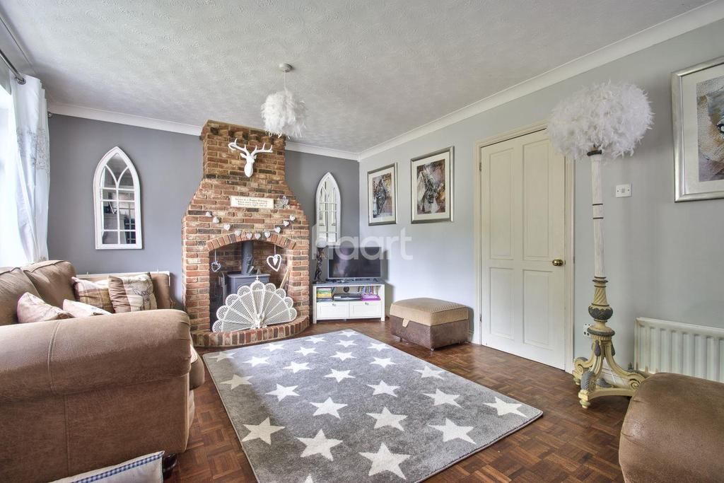 4 Bedrooms Detached House for sale in Southfields, Roxton
