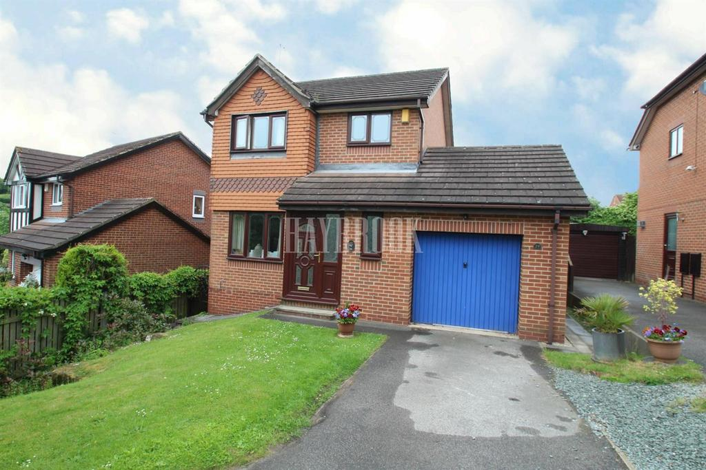 3 Bedrooms Detached House for sale in Moor Farm Avenue, Mosborough