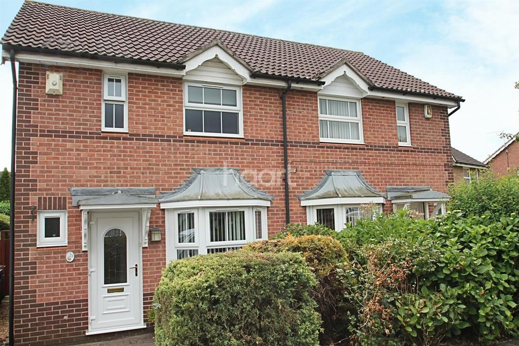 2 Bedrooms Semi Detached House for sale in Meltham Close, Northampton