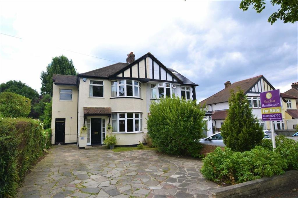 4 Bedrooms Semi Detached House for sale in Southborough Lane, Bromley, Kent
