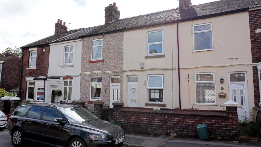 3 Bedrooms Terraced House for sale in Templar Terrace, Porthill, Newcastle, Staffs