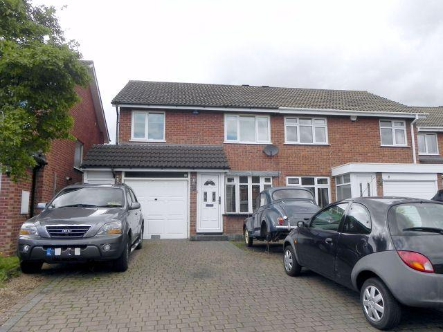 3 Bedrooms Semi Detached House for sale in Harbury Close,Minworth,Sutton Coldfield
