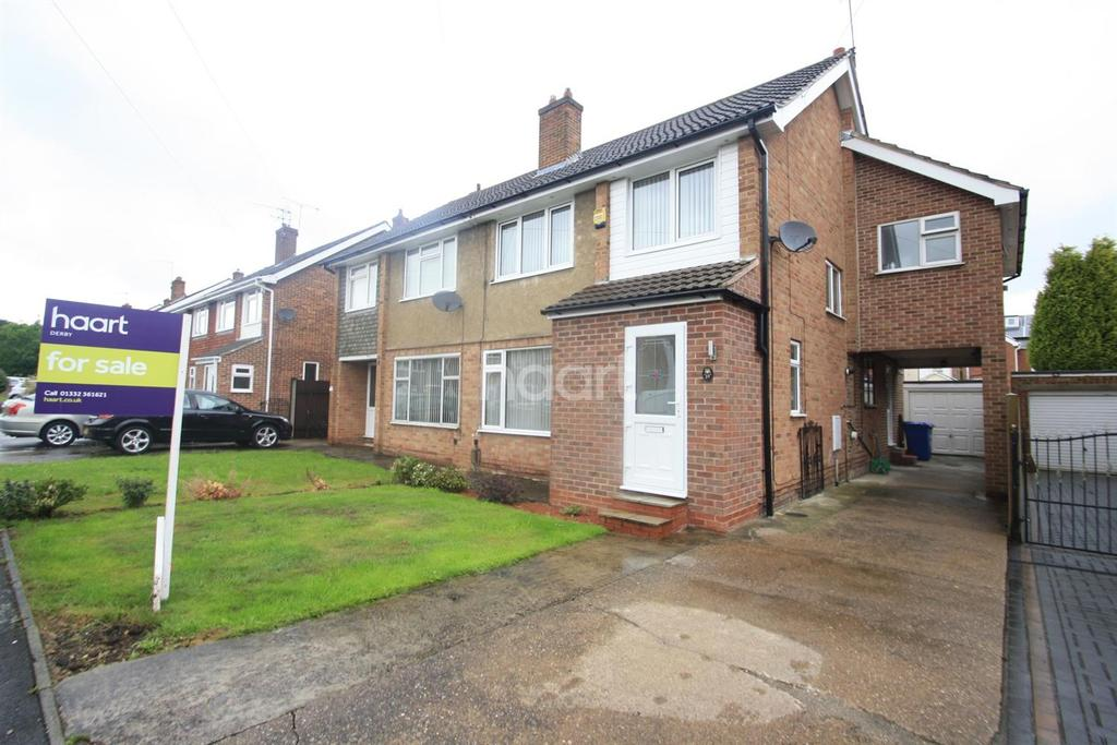 4 Bedrooms Semi Detached House for sale in Serina Avenue, Littleover