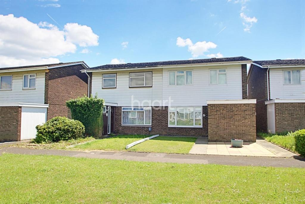 3 Bedrooms Semi Detached House for sale in Off Bamford Road, Bedford