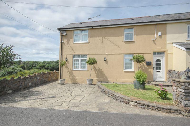 3 Bedrooms Semi Detached House for sale in Elm Cottage, 2 Ty Duffrwyth, Fforest Road, Llanharry CF72 9JW