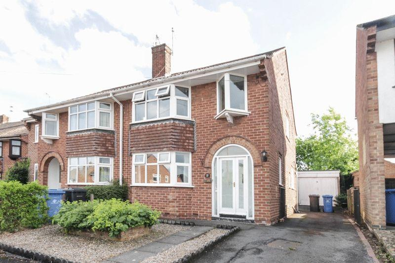 3 Bedrooms Semi Detached House for sale in WELBECK GROVE, ALLESTREE