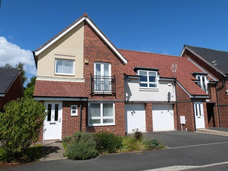 3 Bedrooms Link Detached House for sale in Howard Walk, Ashington - Three Bedroom Link Detached House