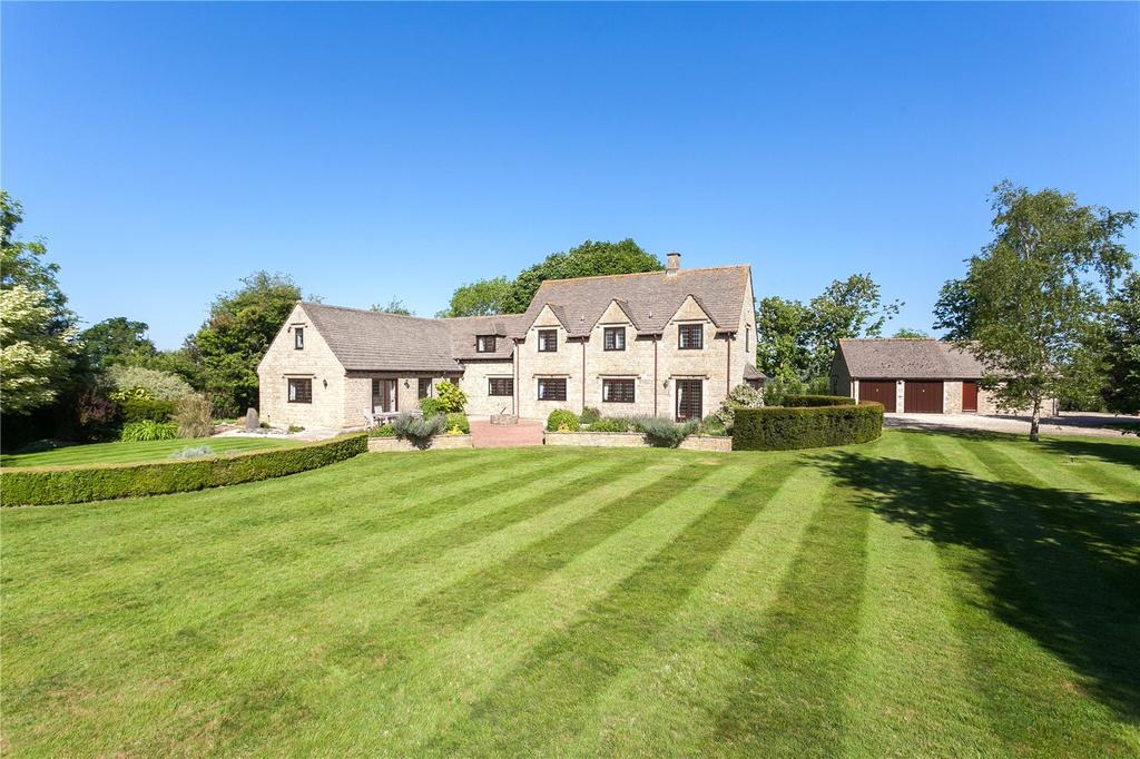 5 Bedrooms Detached House for sale in Ashton Road, Minety, Malmesbury, Wiltshire, SN16