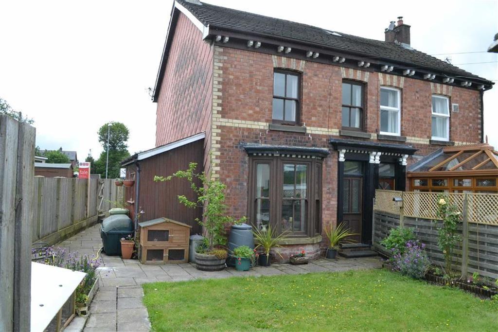 4 Bedrooms Semi Detached House for sale in Delfryn, 1, Glandwr Villas, Gorn Road, Llanidloes, SY18