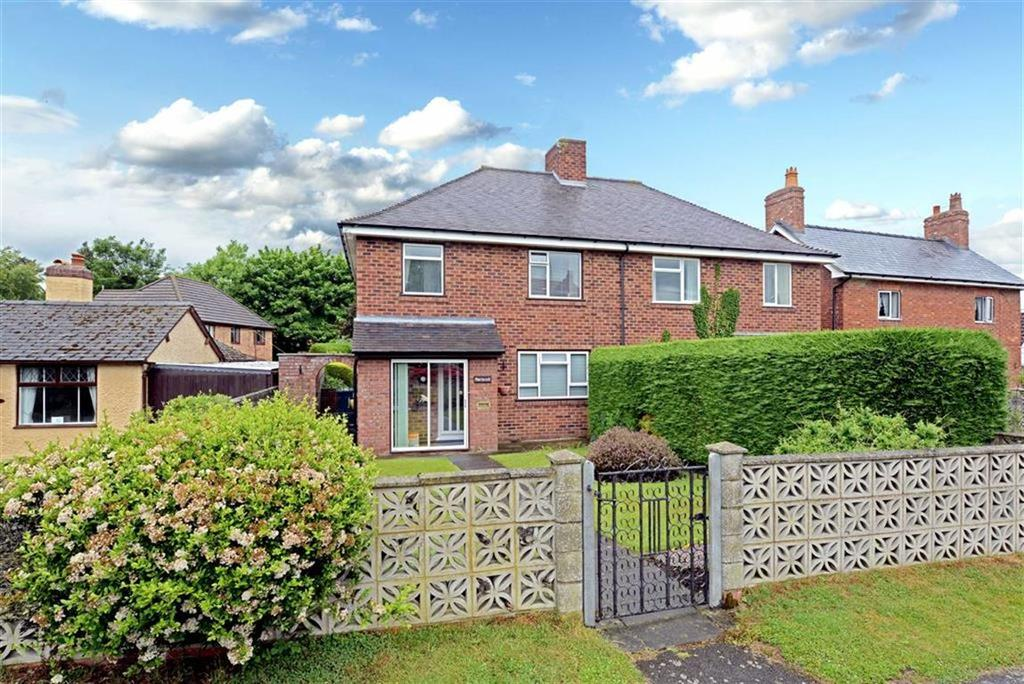 3 Bedrooms Semi Detached House for sale in Holyhead Road, Montford Bridge, Shrewsbury, Shropshire