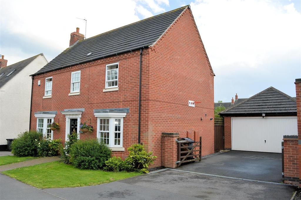 4 Bedrooms Detached House for sale in Ruskin Field, Anstey, Leicester