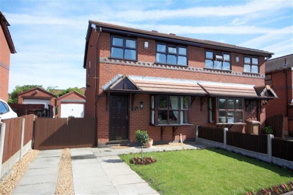 3 Bedrooms Semi Detached House for sale in The Brambles, Garswood, Wigan, WN4
