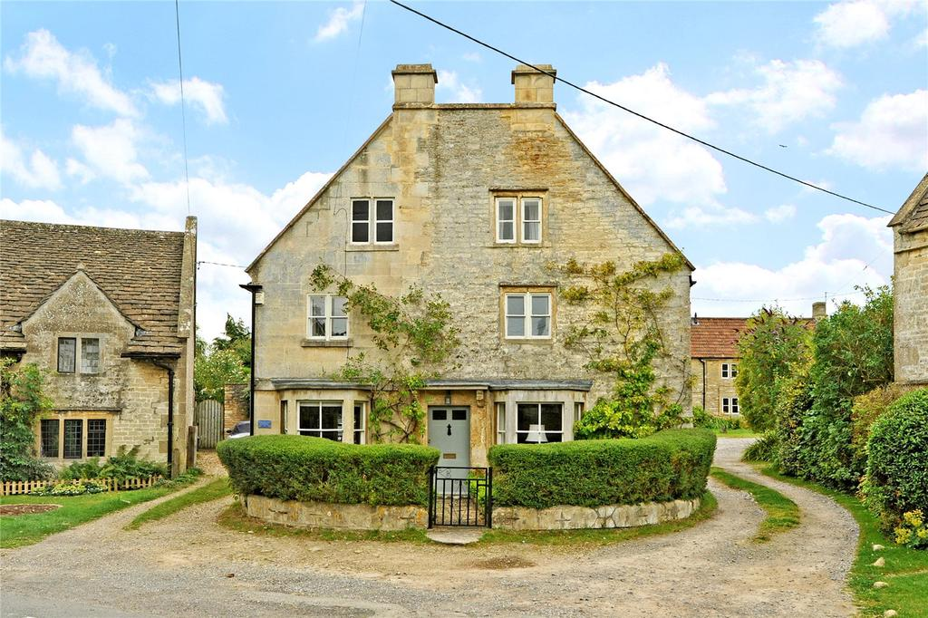4 Bedrooms Detached House for sale in The Green, Biddestone, Chippenham, Wiltshire