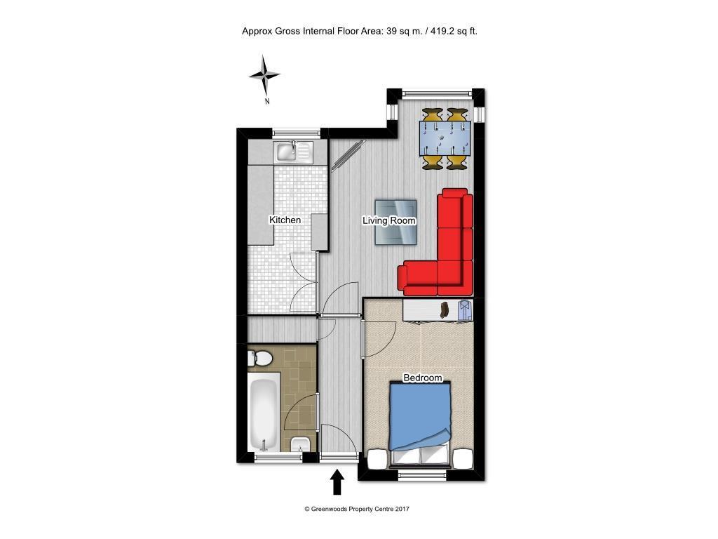 Floorplan 1 of 2: Floorplan 1