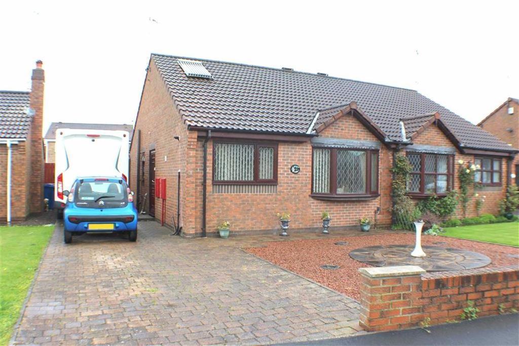 2 Bedrooms Semi Detached Bungalow for sale in Avocet Way, Bridlington, East Yorkshire