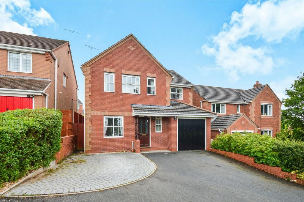 4 Bedrooms Detached House for sale in Larks Rise, Cleobury Mortimer, Kidderminster, Shropshire