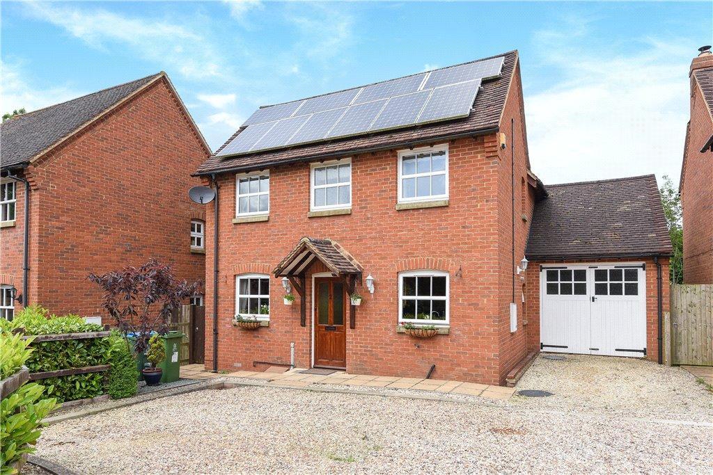 3 Bedrooms Detached House for sale in Nans Garden, Newton Longville, Milton Keynes, Buckinghamshire