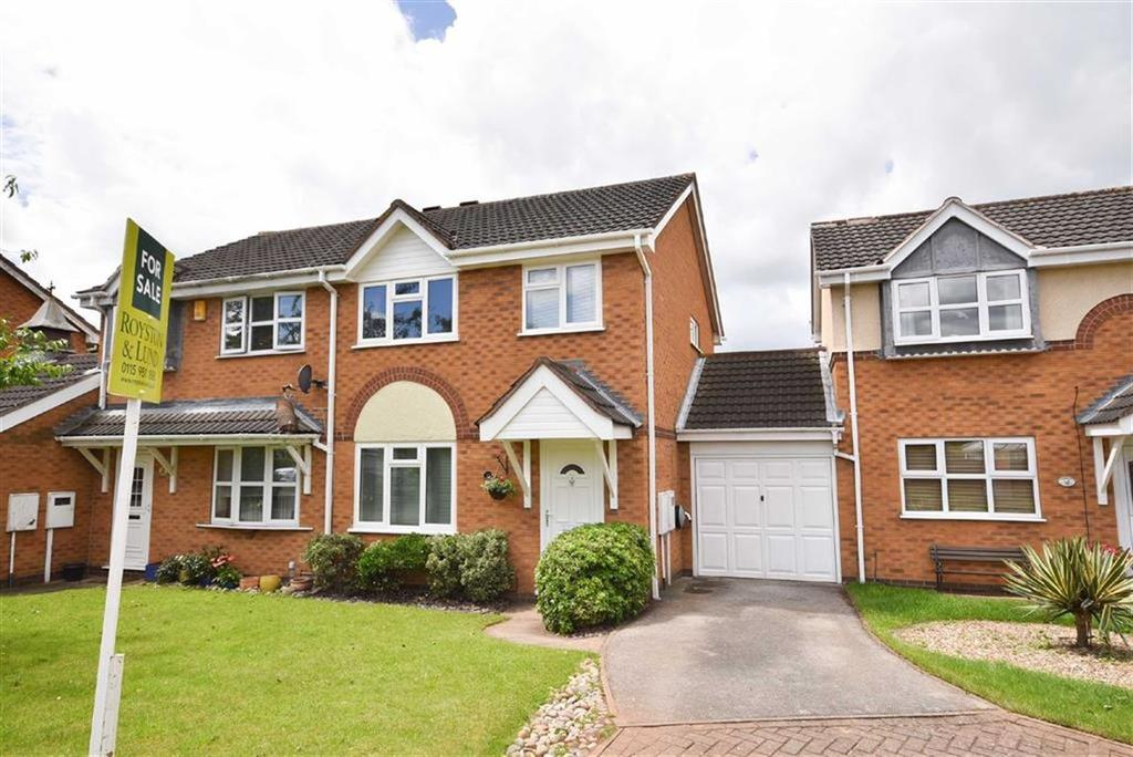 3 Bedrooms Semi Detached House for sale in Parkstone Close, West Bridgford