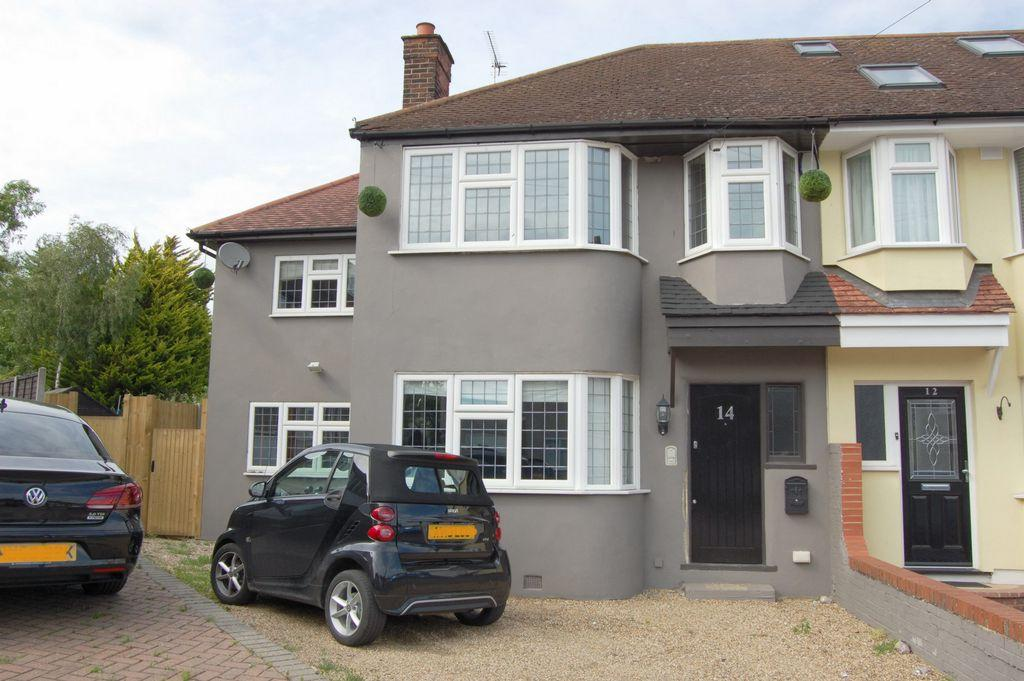 4 Bedrooms End Of Terrace House for sale in Willow Close, Buckhurst Hill, IG9