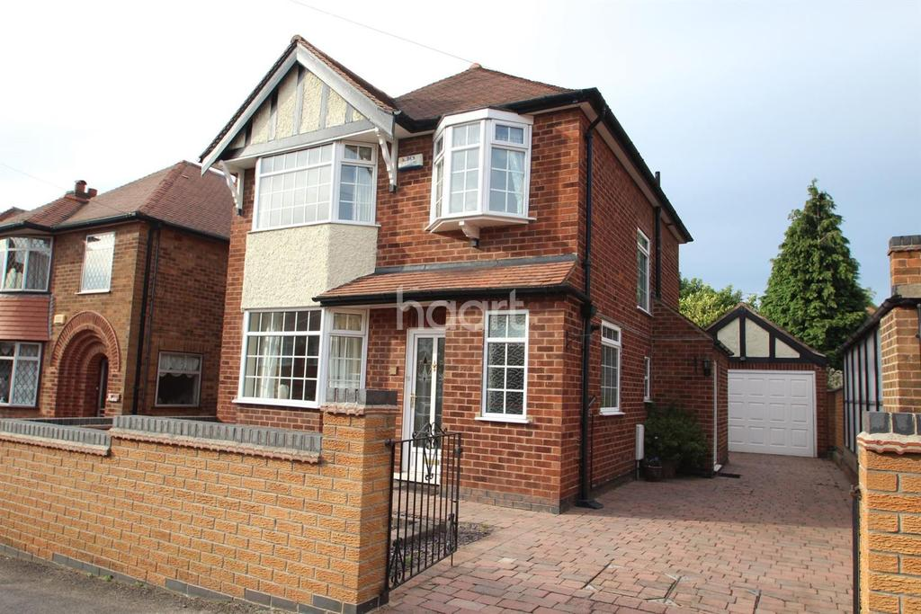3 Bedrooms Detached House for sale in Kingswell Road, Arnold, Nottingham