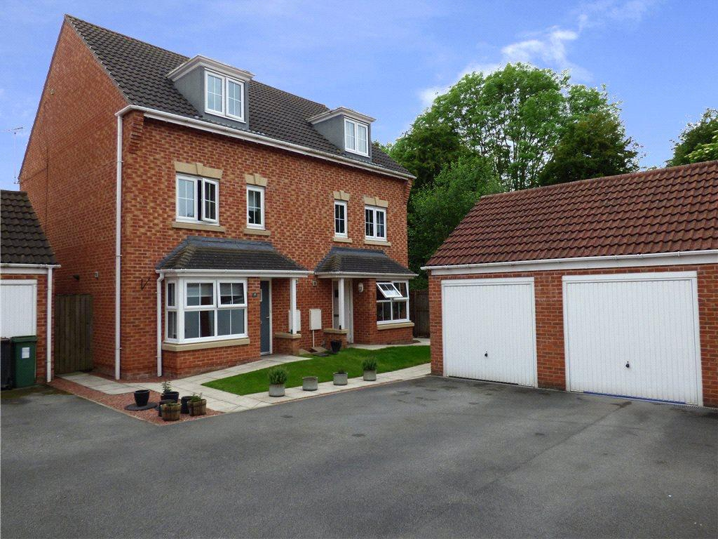 4 Bedrooms Semi Detached House for sale in Guinea Croft, Knaresborough, North Yorkshire