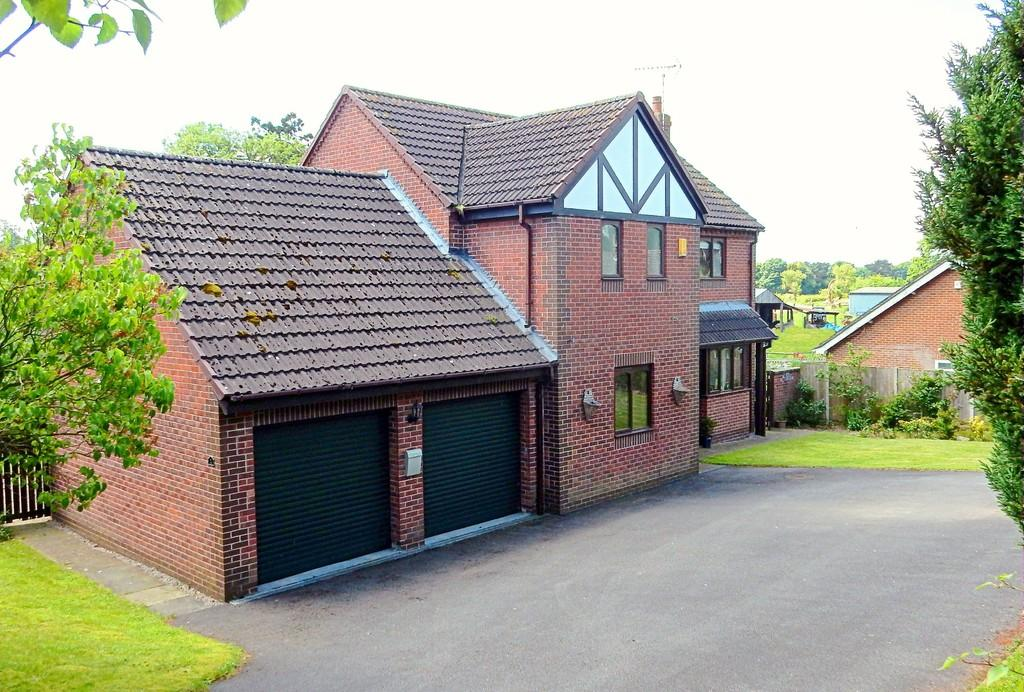 4 Bedrooms Detached House for sale in Waterpark Road, Doveridge