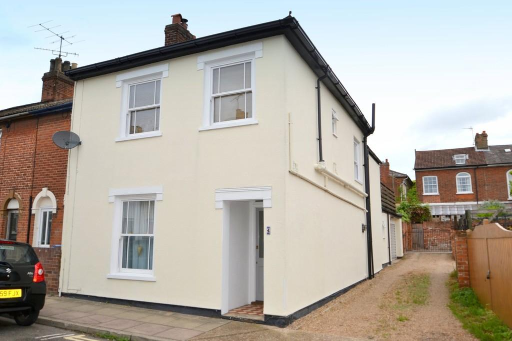 3 Bedrooms End Of Terrace House for sale in Ann Street, Ipswich, Suffolk, IP1 3PD