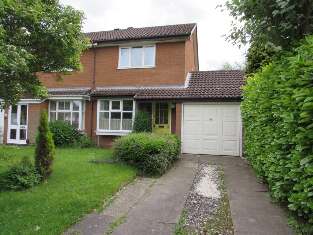 2 Bedrooms Semi Detached House for sale in Shelsley Way, Solihull