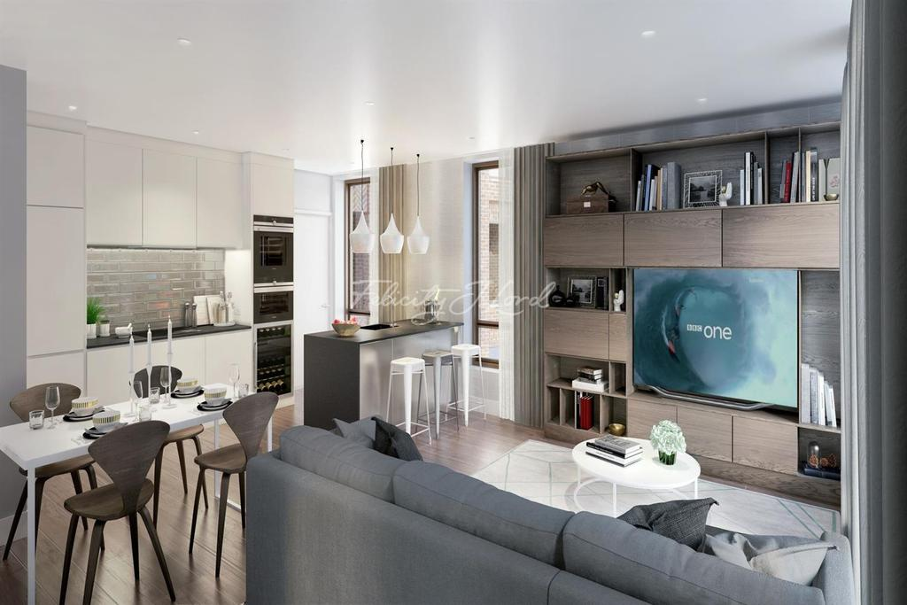 1 Bedroom Flat for sale in Spitalfields Apartment, E1
