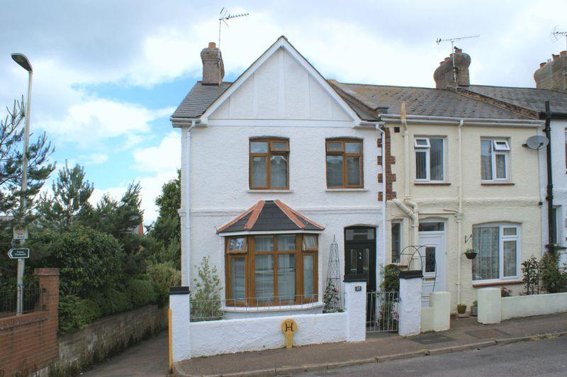 2 Bedrooms End Of Terrace House for sale in Armytage Road, Budleigh Salterton