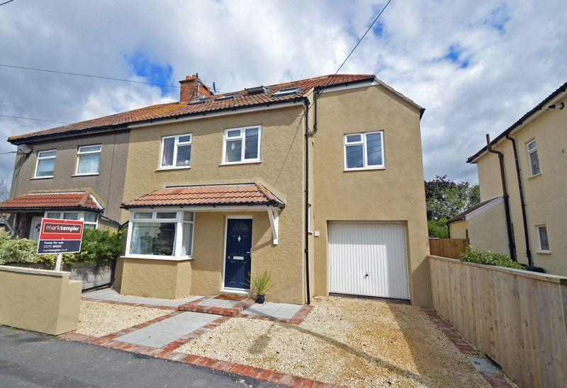 4 Bedrooms Semi Detached House for sale in A short walk to Clevedon sea front and town centre