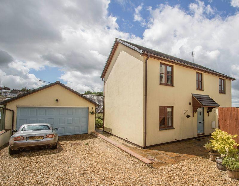 4 Bedrooms Detached House for sale in 13 Bishops Meadow, Morchard Bishop