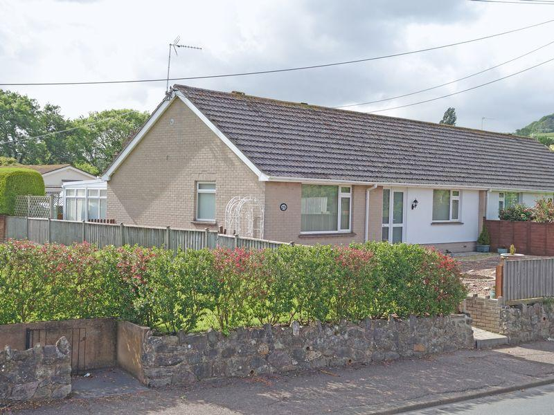 2 Bedrooms Semi Detached Bungalow for sale in Sidford Road, Sidmouth