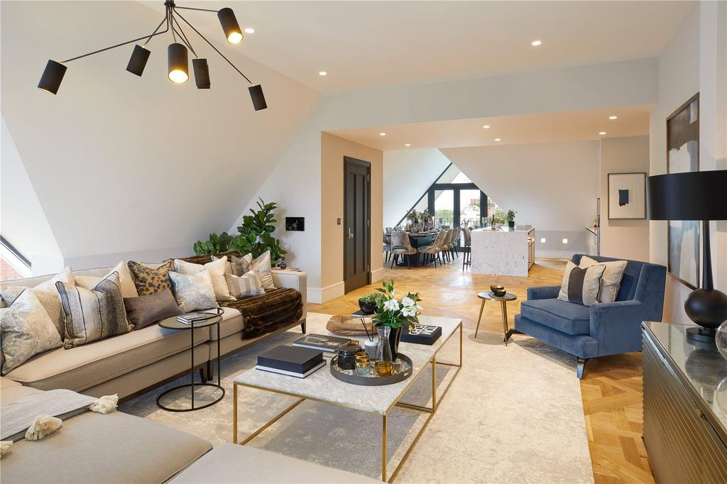 5 Bedrooms Penthouse Flat for sale in Netherhall Gardens, Hampstead, London, NW3