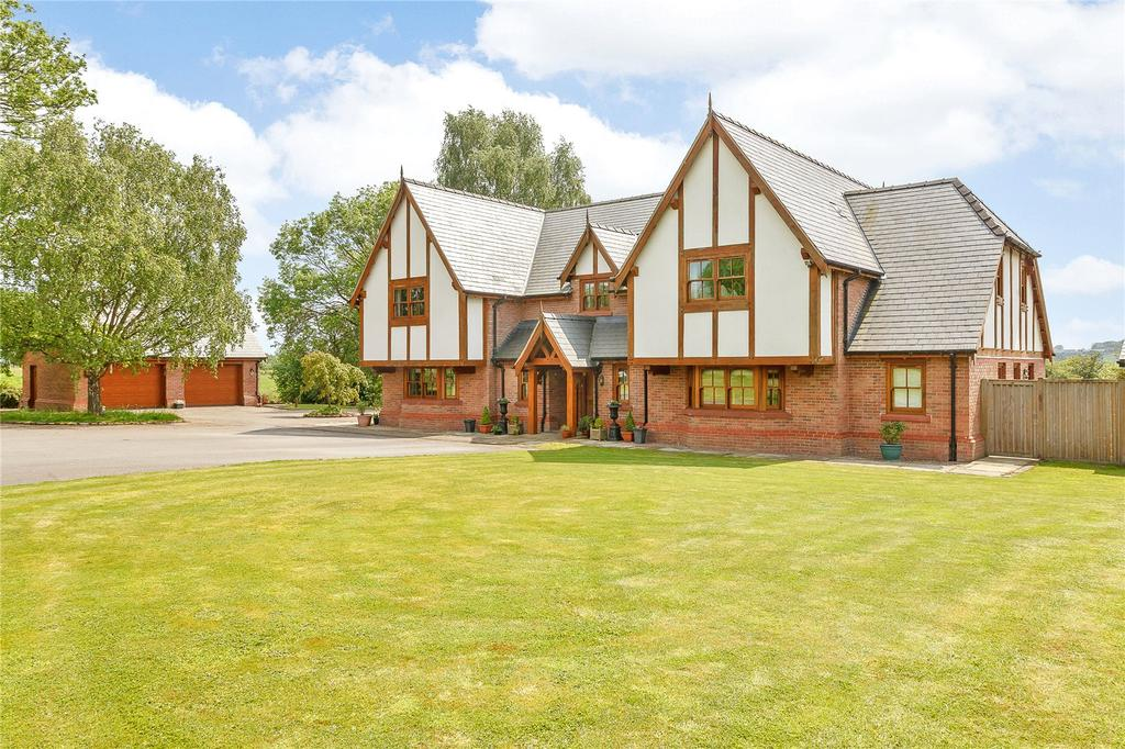 5 Bedrooms Detached House for sale in Huxley Lane, Tiverton, Tarporley, Cheshire, CW6