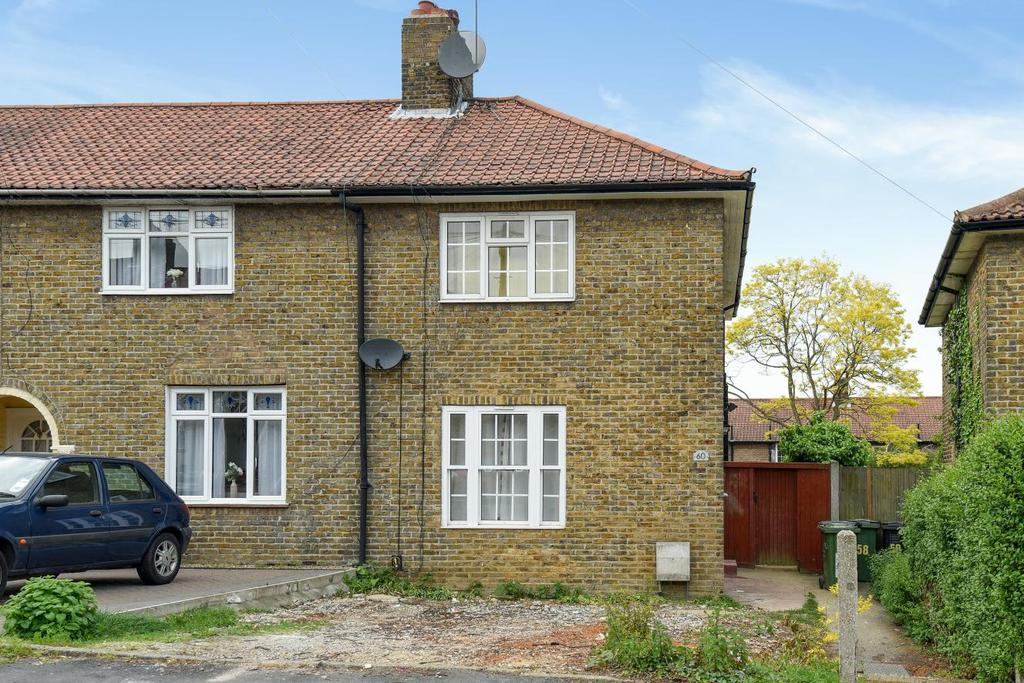 3 Bedrooms End Of Terrace House for sale in Ivorydown, Bromley