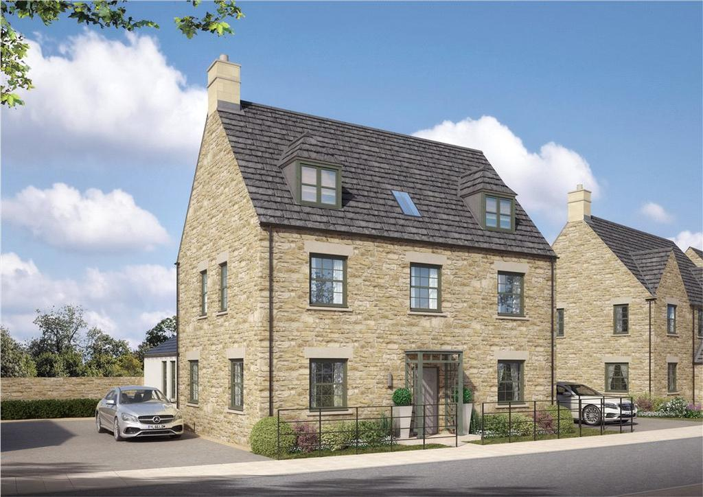 5 Bedrooms Detached House for sale in Bassett Road, Northleach, Cheltenham, Gloucestershire, GL54