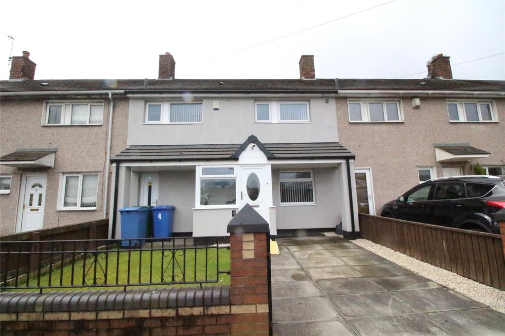 3 Bedrooms Town House for sale in Totnes Road, Liverpool, Merseyside, L11