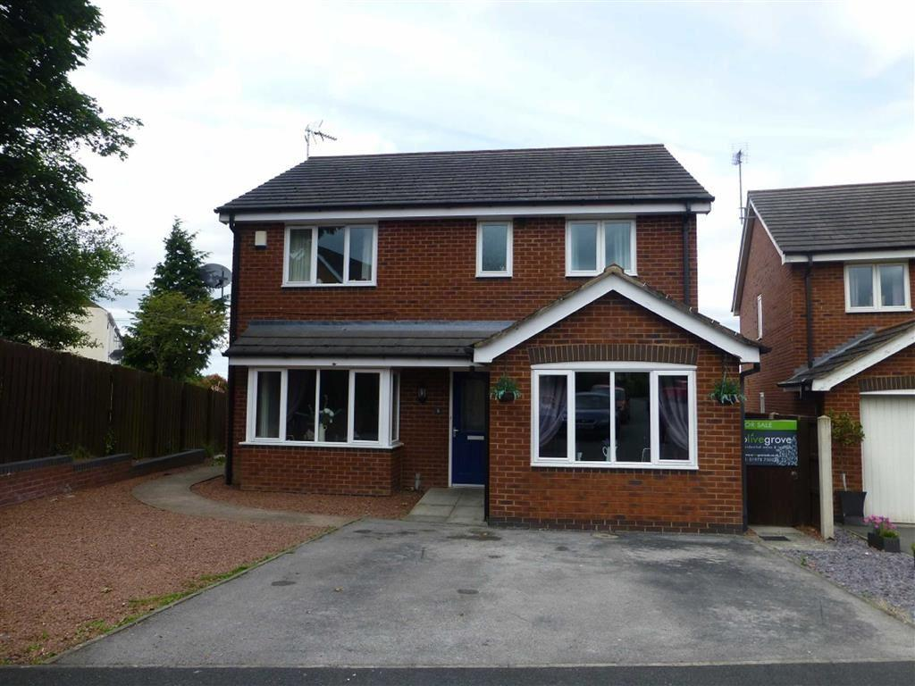 4 Bedrooms Detached House for sale in Moonlight Close, Summerhill, Wrexham