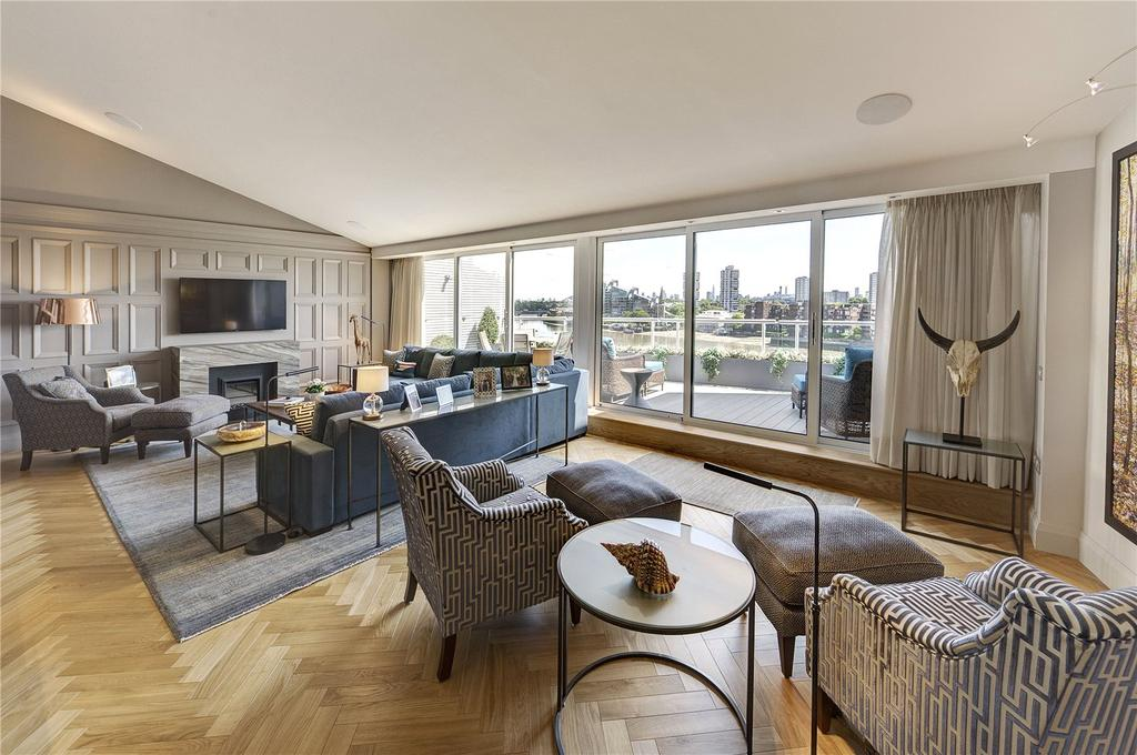 3 Bedrooms Penthouse Flat for sale in Chelsea Crescent, Chelsea Harbour, Chelsea, London