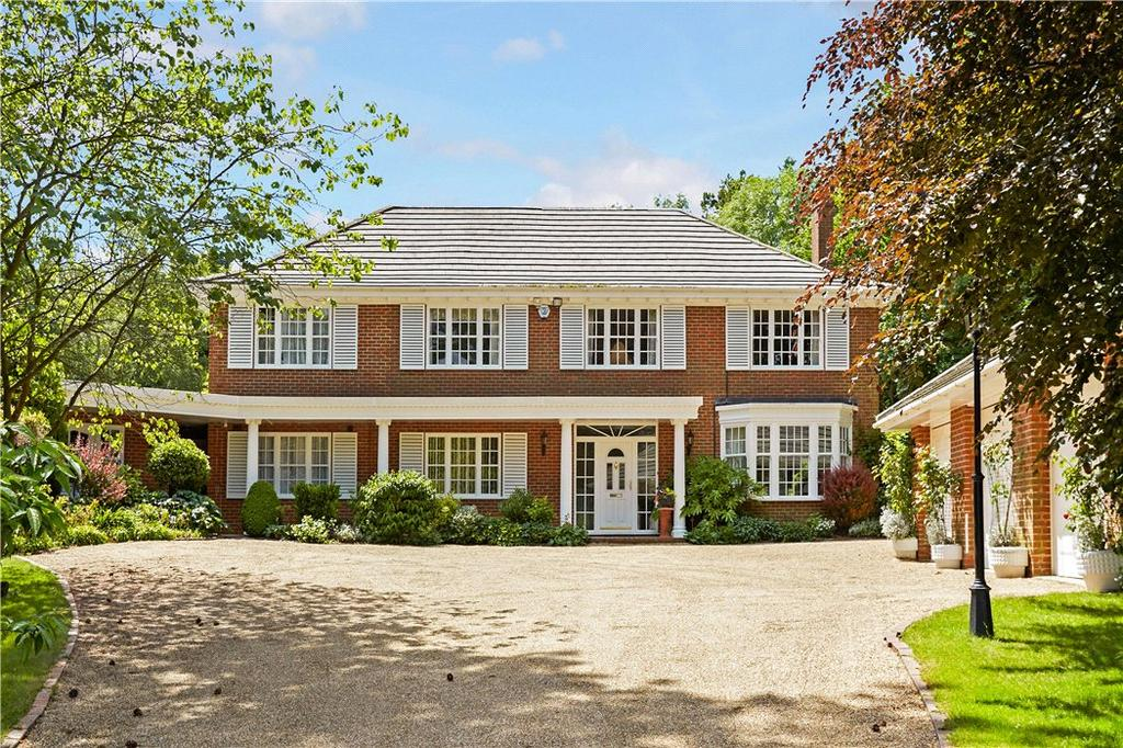 5 Bedrooms Detached House for sale in The Warren, East Horsley, Leatherhead, Surrey, KT24
